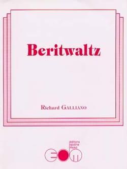 Beritwaltz Richard Galliano Partition Accordéon - laflutedepan