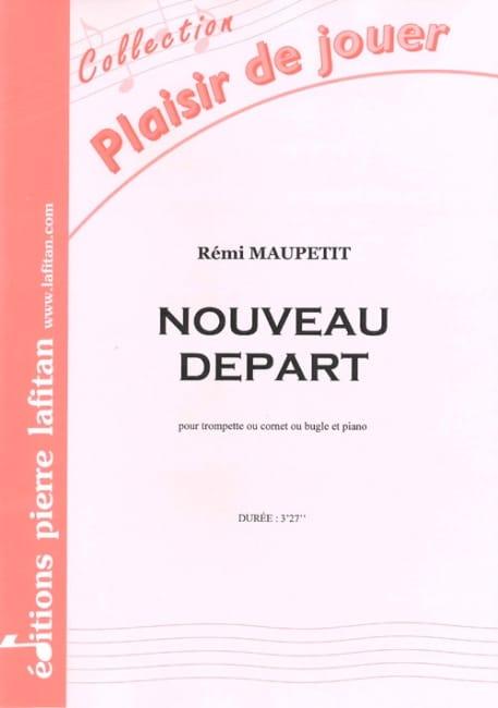 Nouveau Départ - Rémi Maupetit - Partition - laflutedepan.com