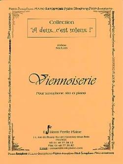 Viennoiserie Jérôme Naulais Partition Saxophone - laflutedepan