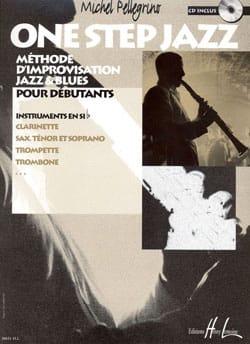 One Step Jazz Michel Pellegrino Partition Clarinette - laflutedepan