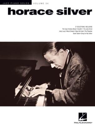 Jazz Piano Solos Series Volume 34 - Horace Silver laflutedepan