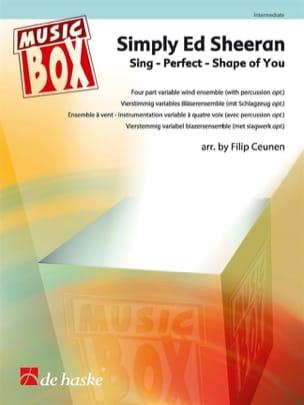 Simply Ed Sheeran - Music Box Ed Sheeran Partition laflutedepan