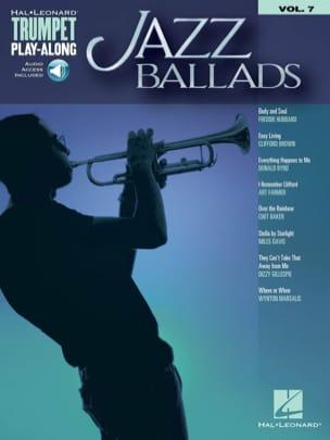 Trumpet Play-Along Volume 7 Jazz Ballads Partition laflutedepan