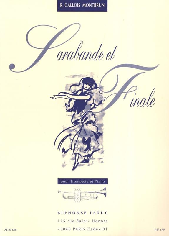 Sarabande et Finale - Raymond Gallois-Montbrun - laflutedepan.com