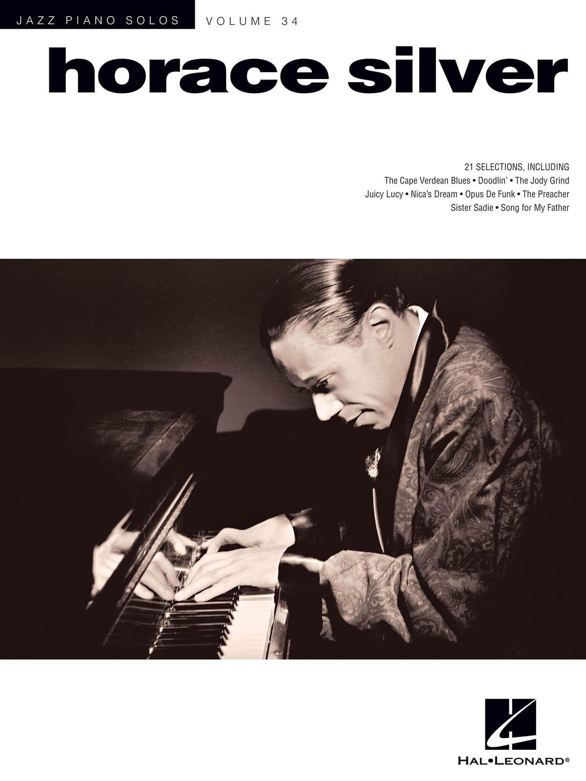 Jazz Piano Solos Series Volume 34 - Horace Silver - laflutedepan.com