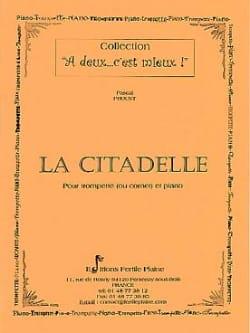 La citadelle de marbre Pascal Proust Partition laflutedepan