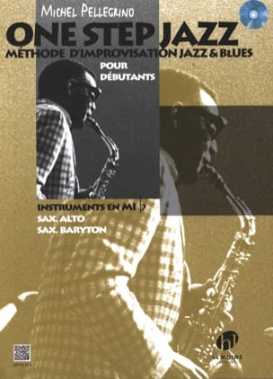 One Step Jazz Michel Pellegrino Partition Saxophone - laflutedepan