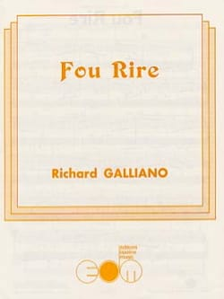Fou Rire Richard Galliano Partition Accordéon - laflutedepan