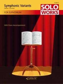 Symphonic Variants James Curnow Partition Tuba - laflutedepan