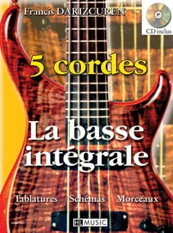La Basse Intégrale 5 Cordes Francis Darizcuren Partition laflutedepan