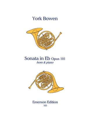 Sonate en Mib pour Cor York Bowen Partition Cor - laflutedepan