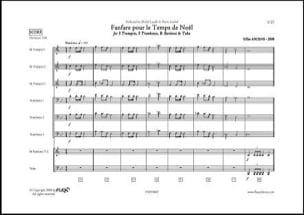 Fanfare pour le temps de Noël - Gilles Arcens - laflutedepan.com
