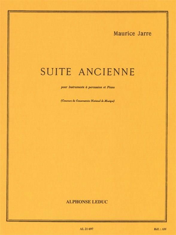 Suite Ancienne - Maurice Jarre - Partition - laflutedepan.com
