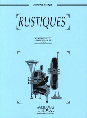 Rustiques Eugène Bozza Partition Trompette - laflutedepan