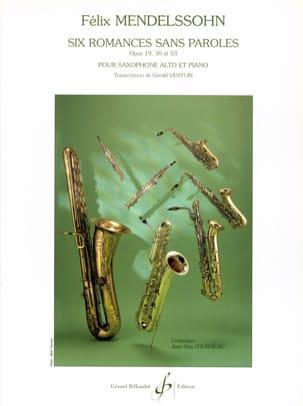 Six Romances Sans Paroles Opus 19 30-53 - laflutedepan.com