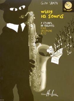 Willy la Souris Gino Samyn Partition Saxophone - laflutedepan