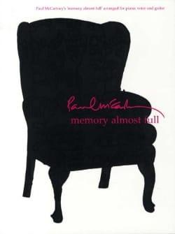 Memory Almost Full Paul Mccartney Partition Pop / Rock - laflutedepan