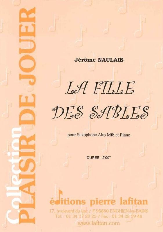 La Fille Des Sables - Jérôme Naulais - Partition - laflutedepan.com
