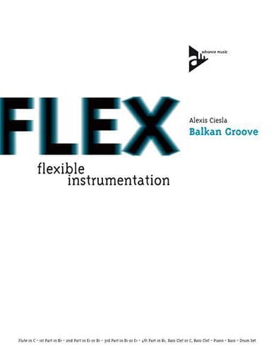 Balkan Groove - Flex - Alexis Ciesla - Partition - laflutedepan.com