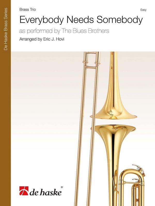 Everybody Needs Somebody, for Brass Trio - laflutedepan.com