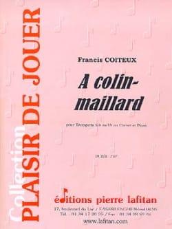A Colin-Maillard Francis Coiteux Partition Trompette - laflutedepan