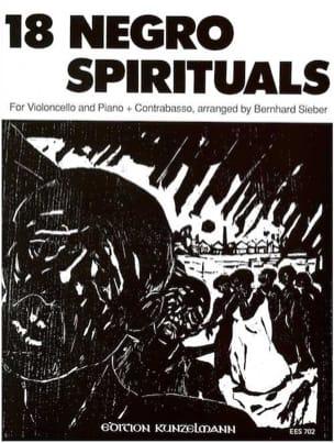 18 Negro Spirituals Partition Violoncelle - laflutedepan