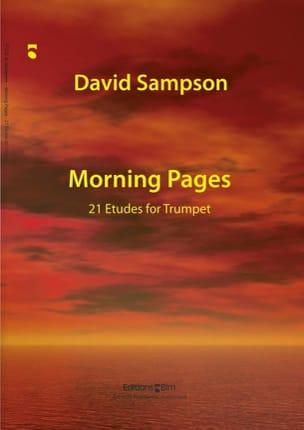 Morning Pages, 21 Etudes For Trumpet David Sampson laflutedepan