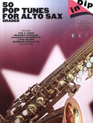50 Pop tunes for alto saxophone graded - Dip in laflutedepan