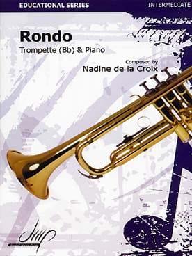 Rondo - Nadine de la Croix - Partition - Trompette - laflutedepan.com