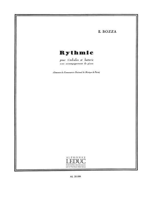 Rythmic Opus 70 - Eugène Bozza - Partition - laflutedepan.com