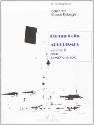 Aphorismes II A A I Volume 2 Etienne Rolin Partition laflutedepan