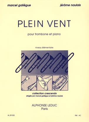 Plein Vent Galiègue Marcel / Naulais Jérôme Partition laflutedepan