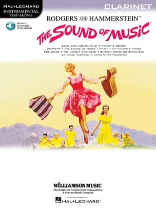The Sound Of Music Richard Rodgers Partition Clarinette - laflutedepan