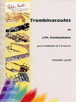 Trombinacoulos Jean-Philippe Vanbeselaere Partition laflutedepan
