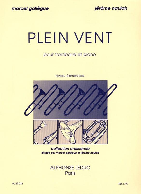 Plein Vent - Galiègue Marcel / Naulais Jérôme - laflutedepan.com