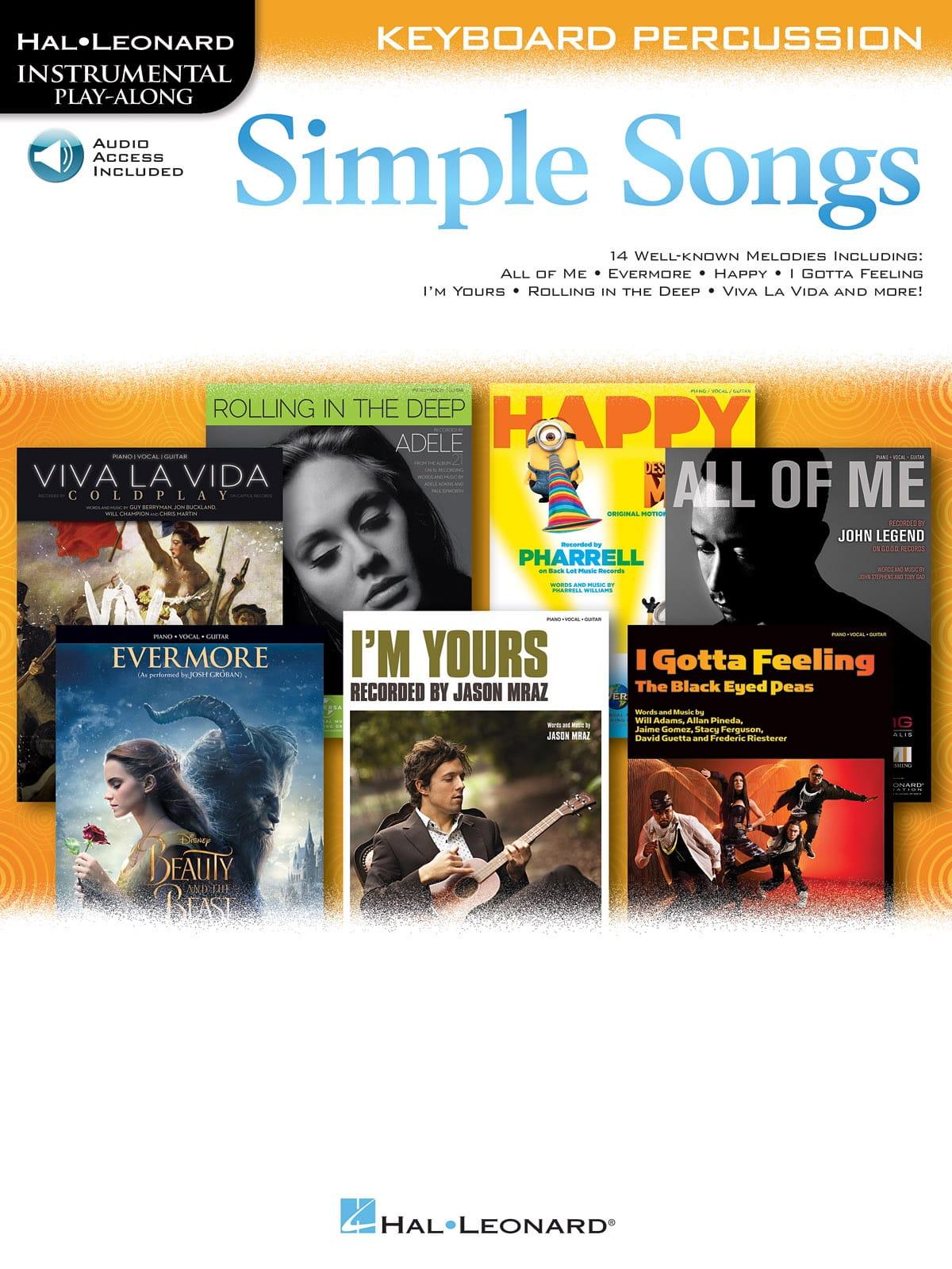 Simple Songs - Partition - Xylophone - laflutedepan.com