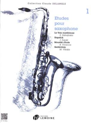 Etudes Pour Saxophone Volume 1 Partition Saxophone - laflutedepan