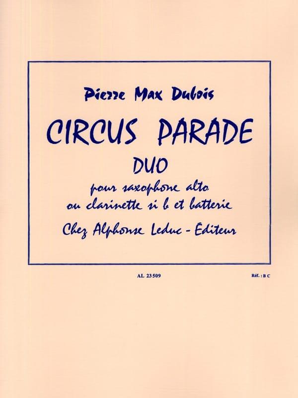 Circus Parade - Pierre-Max Dubois - Partition - laflutedepan.com