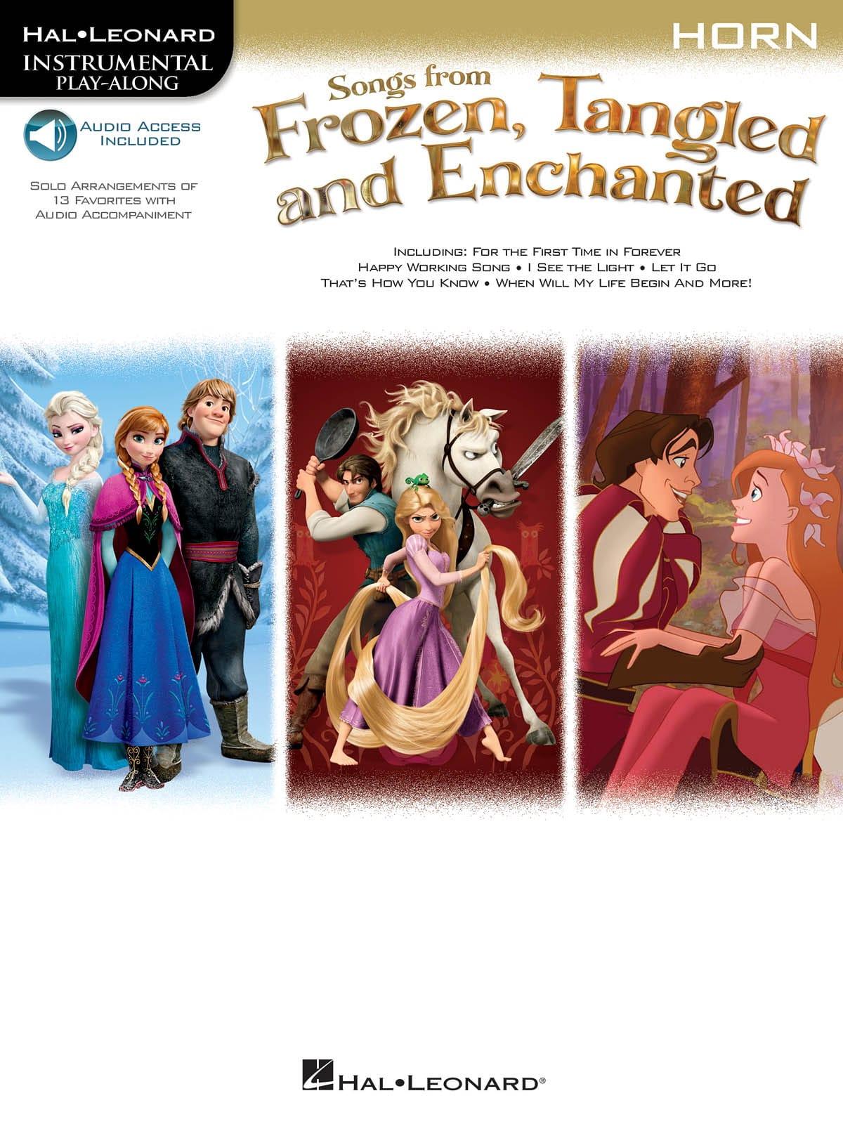 La Reine des Neiges Raiponce et Enchanted - DISNEY - laflutedepan.com