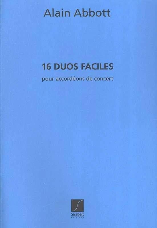 16 Duos Faciles pour accordéons de concert - laflutedepan.com
