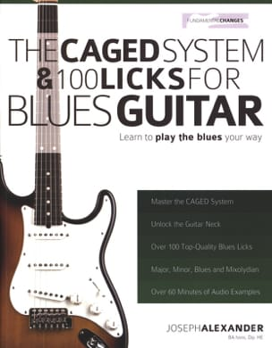 The Caged System & 100 Licks For Blues Guitar laflutedepan