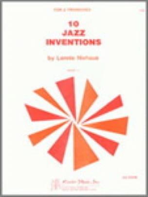 10 Jazz Inventions - Lennie Niehaus - Partition - laflutedepan.com