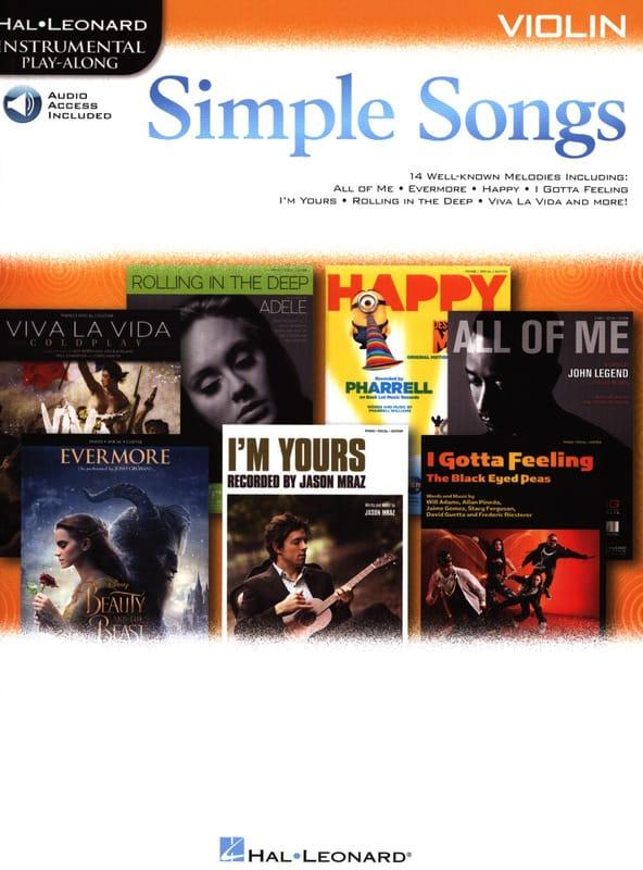 Simple Songs - Partition - Violon - laflutedepan.com