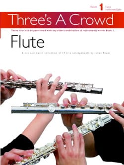 Three's A Crowd Volume 1 - Easy - Partition - laflutedepan.com