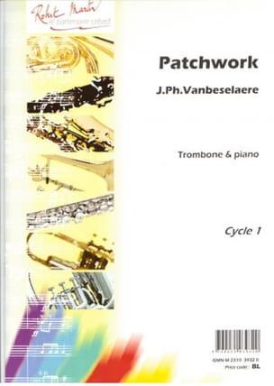 Patchwork Jean-Philippe Vanbeselaere Partition Trombone - laflutedepan