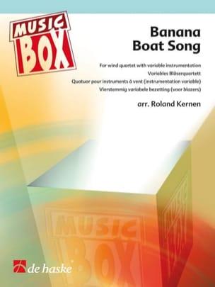 Banana boat song - music box Traditionnel Partition laflutedepan