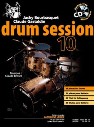 Drum session 10 Bourbasquet Jacky / Gastaldin Claude laflutedepan