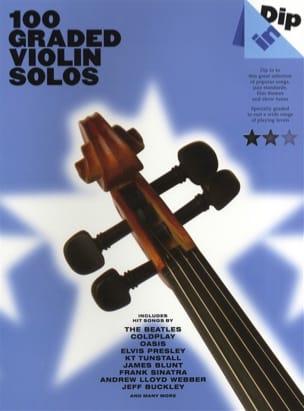 100 Graded Violin Solos - Dip In Partition Violon - laflutedepan