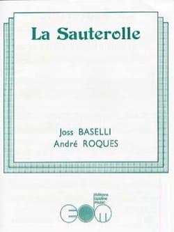 La Sauterolle Joss Baselli & André Roques Partition laflutedepan