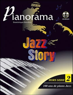 Pianorama Jazz Story Volume 2 - Partition - di-arezzo.co.uk